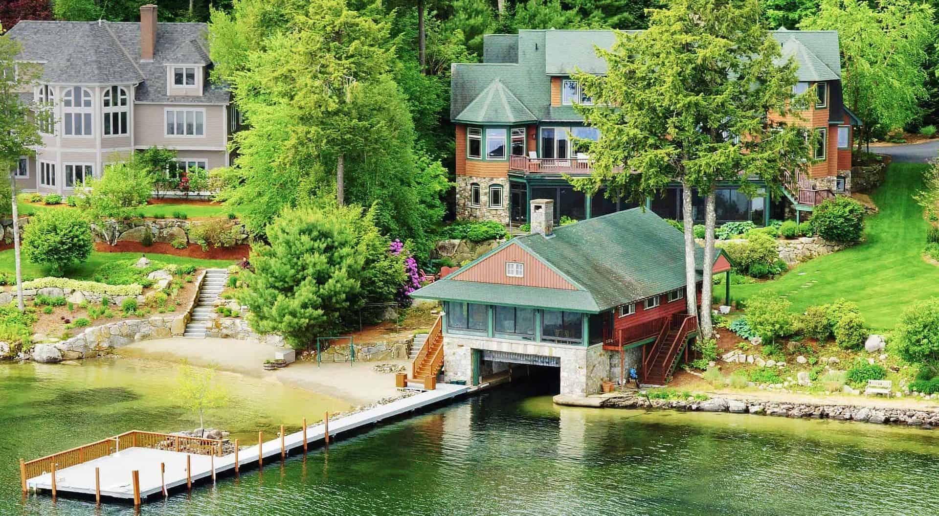 Lake Winnipesaukee Homes - Waterfront Homes $500k-$700k