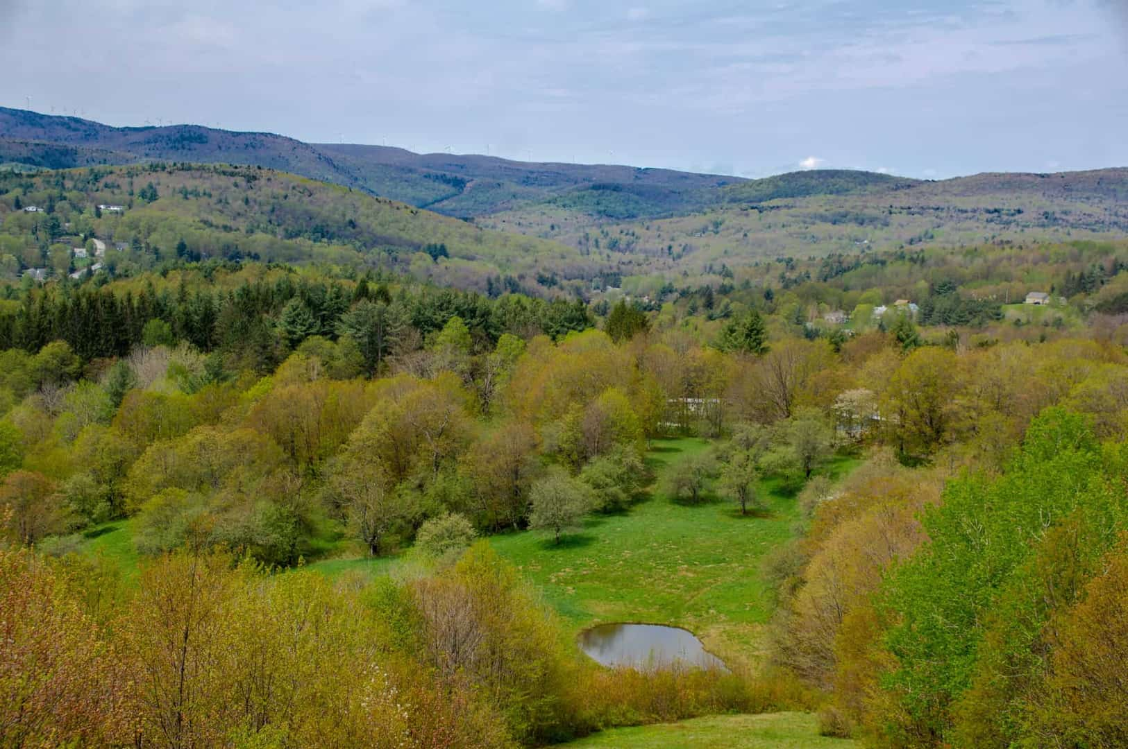 Southern Vermont Land with Mountain Views | Vermont Land for Sale