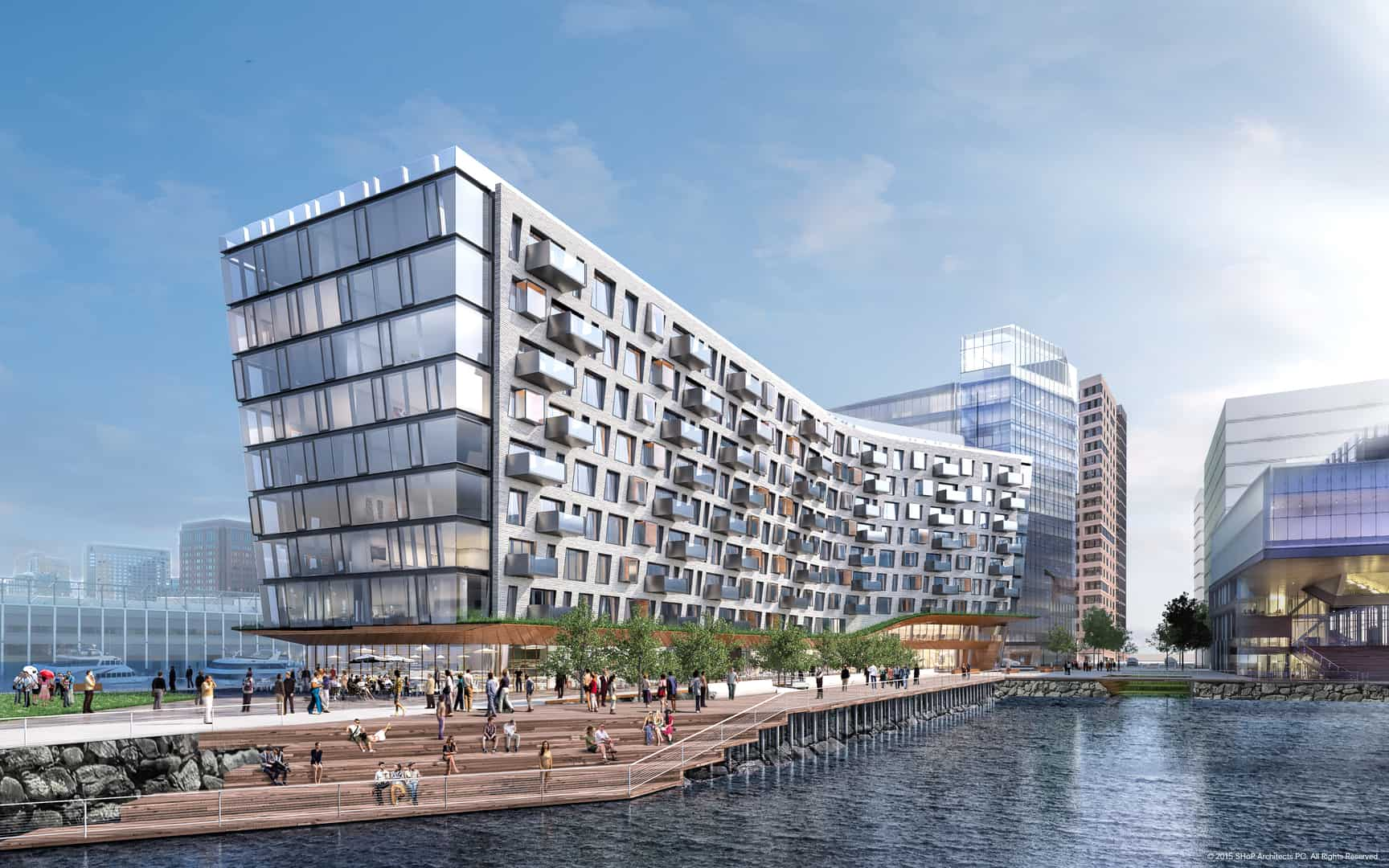 PIER 4 | Seaport Luxury Condos
