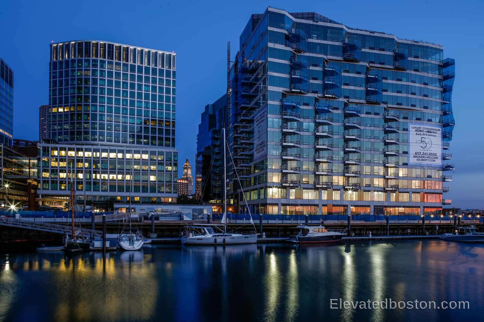50 Liberty Boston | Seaport Luxury Condos