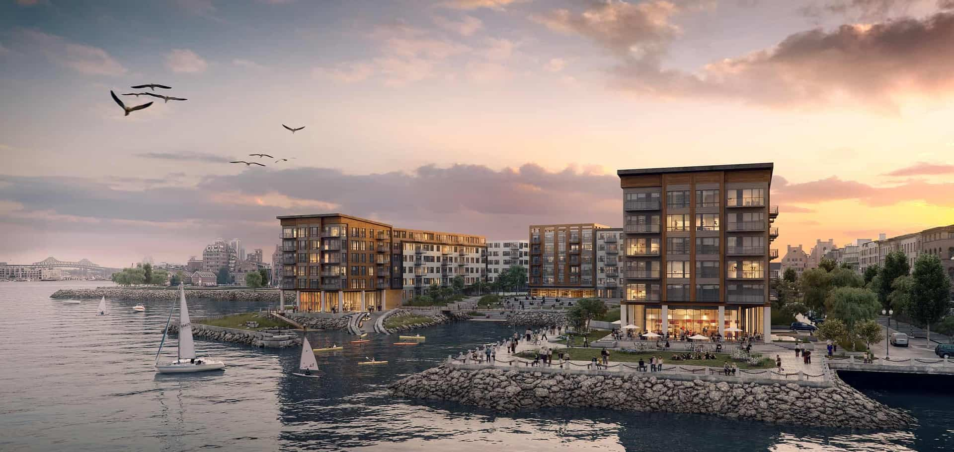 DOX at Clippership Wharf | East Boston Waterfront Rentals