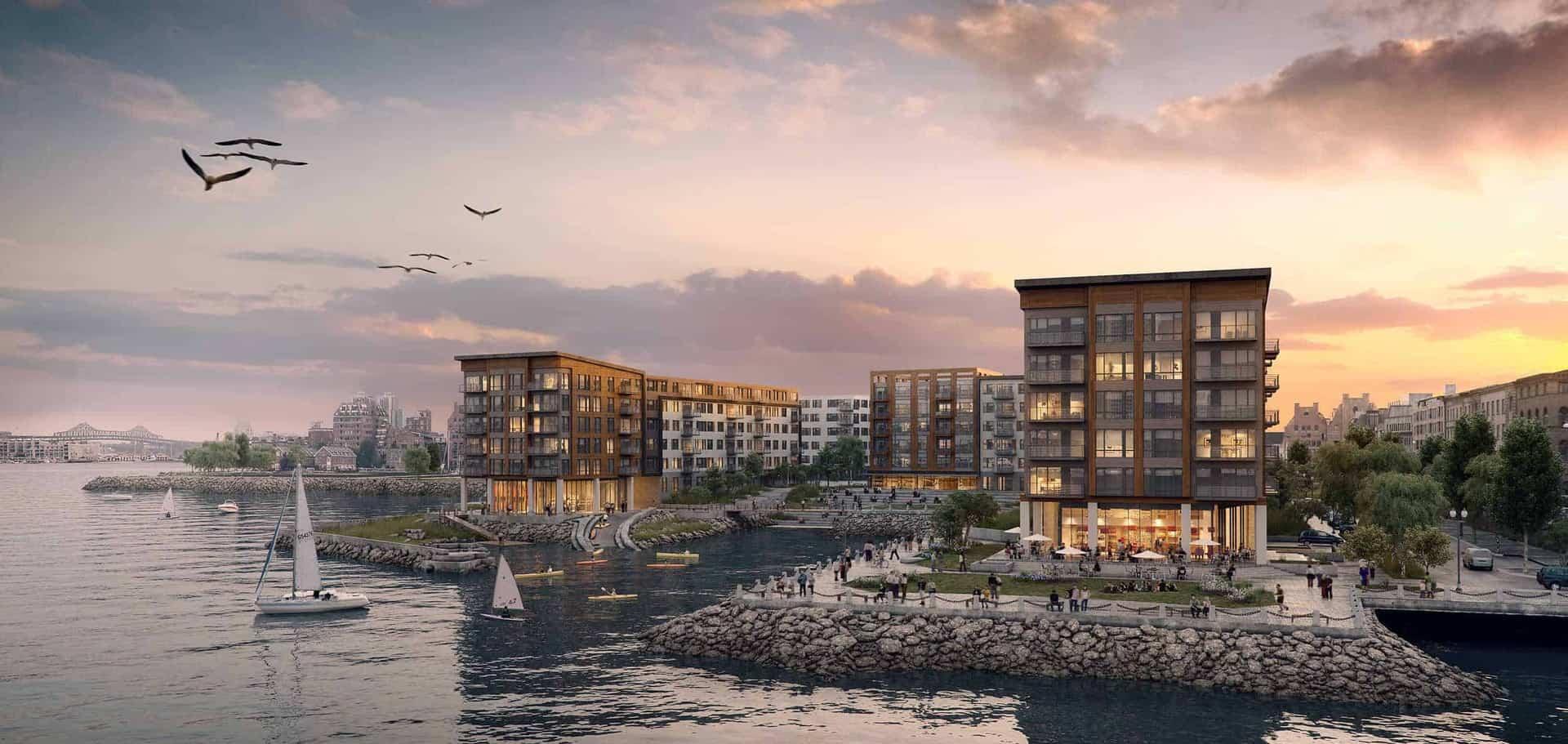 Strange Slip 45 East Boston Luxury Waterfront Condos Interior Design Ideas Grebswwsoteloinfo
