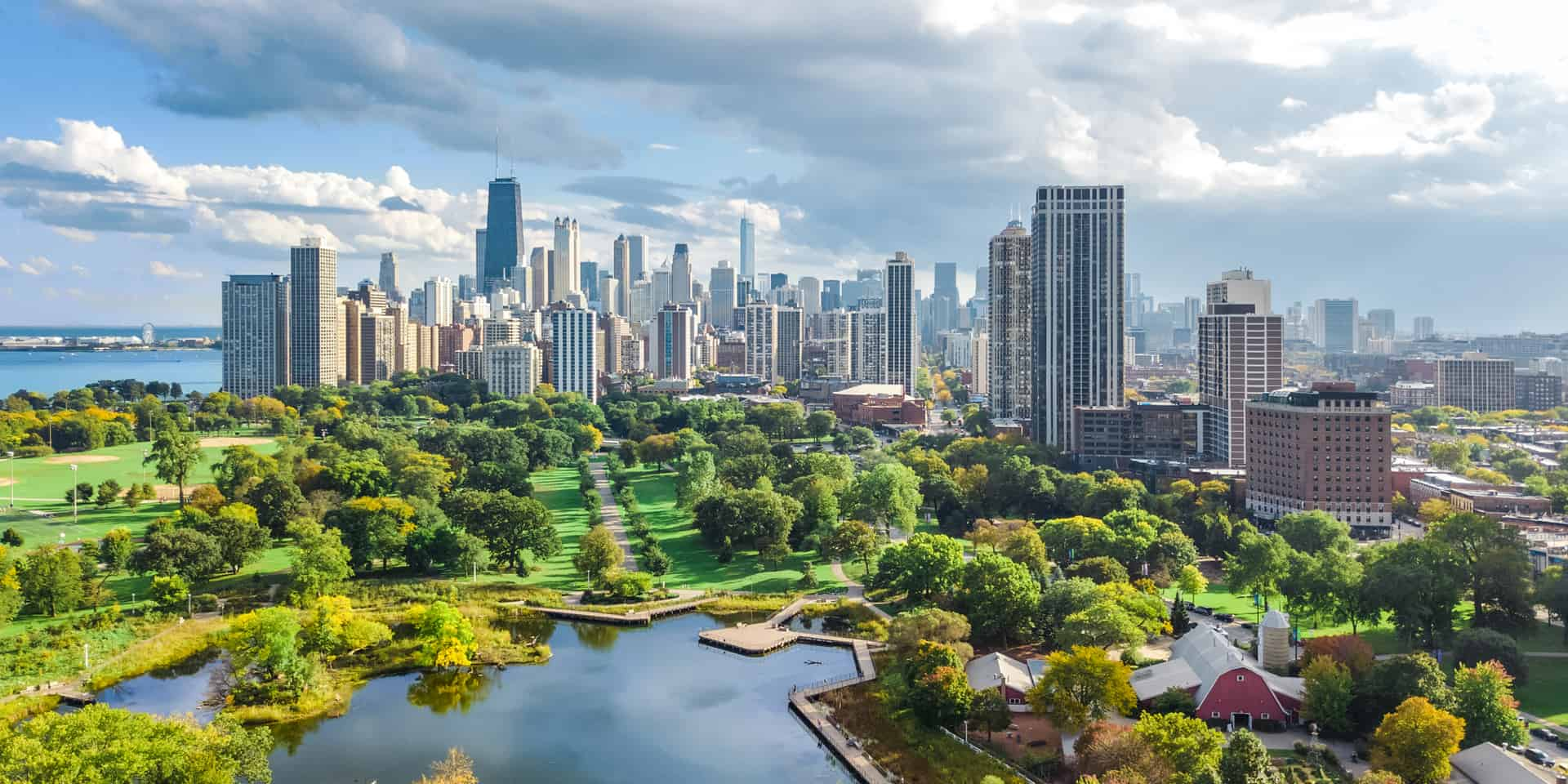 View of the Chicago skyline.