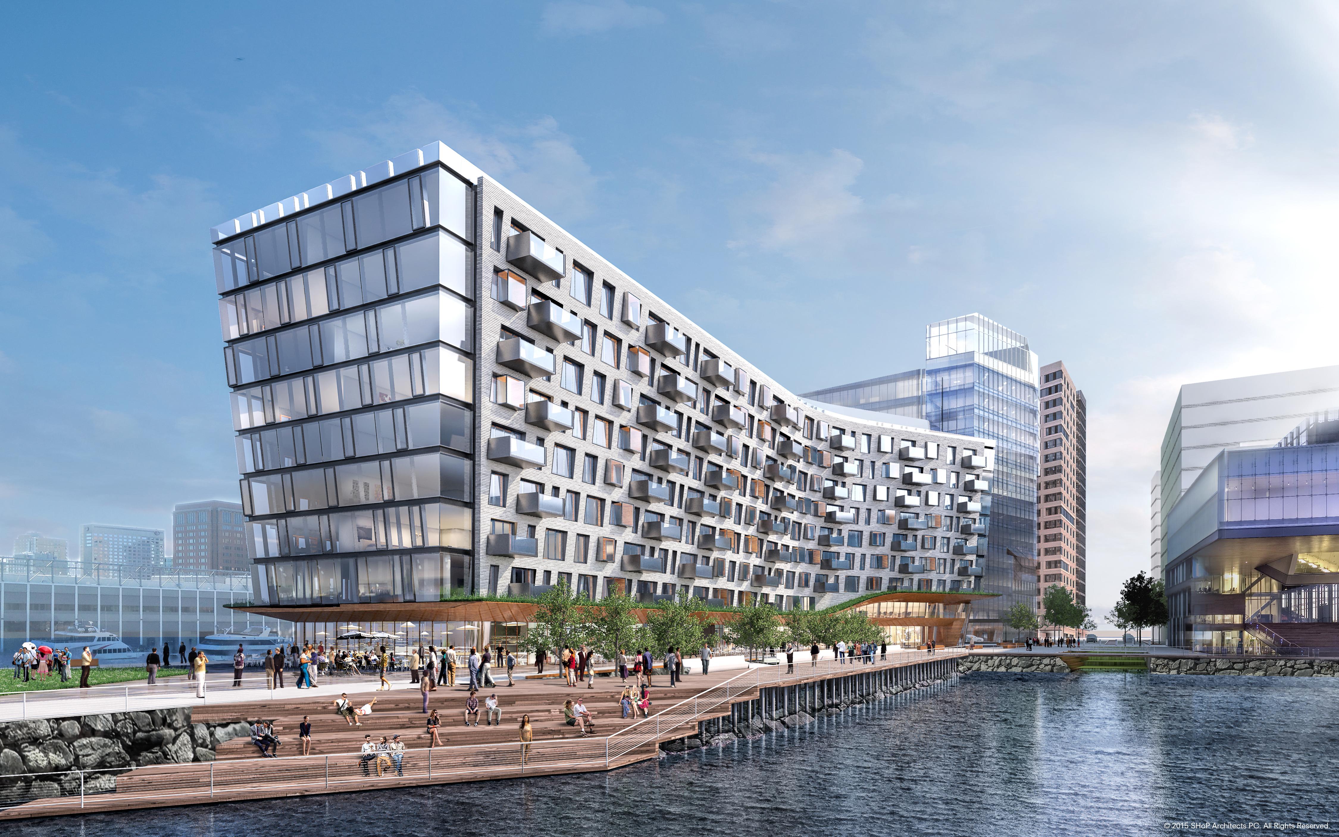 Pier 4 Luxury Condos