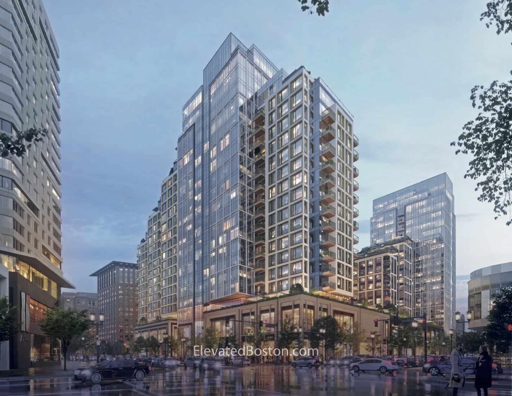 Echelon Seaport: The Building