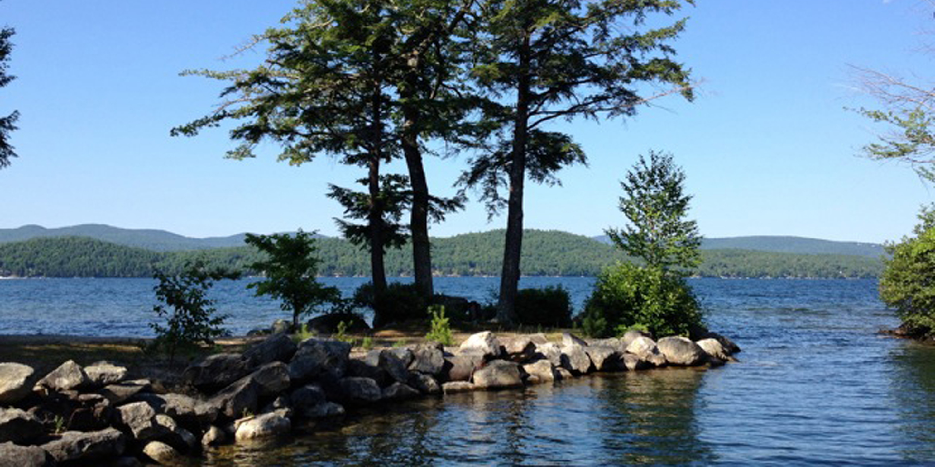 enlarge grant week fishing while img did cabins click winnipesaukee to at a steve cy of lake lot