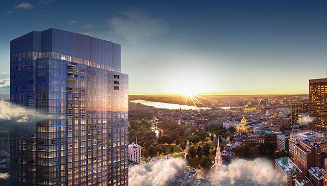 Millennium Tower Boston Luxury Condos