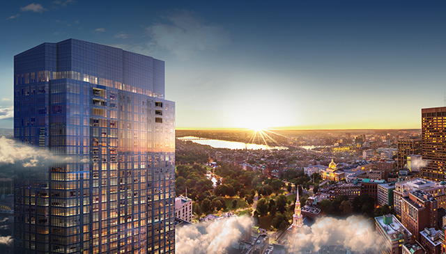 Millennium Tower Boston Luxury Condos