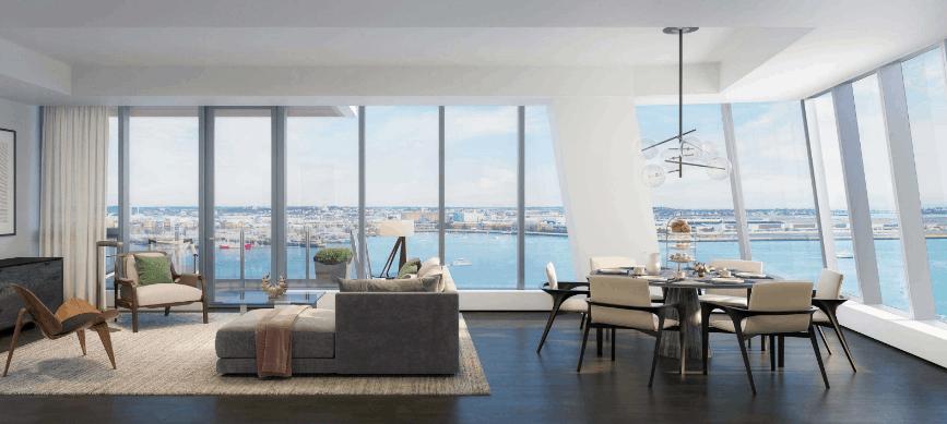 St Regis Residences Boston 150 Seaport New Construction