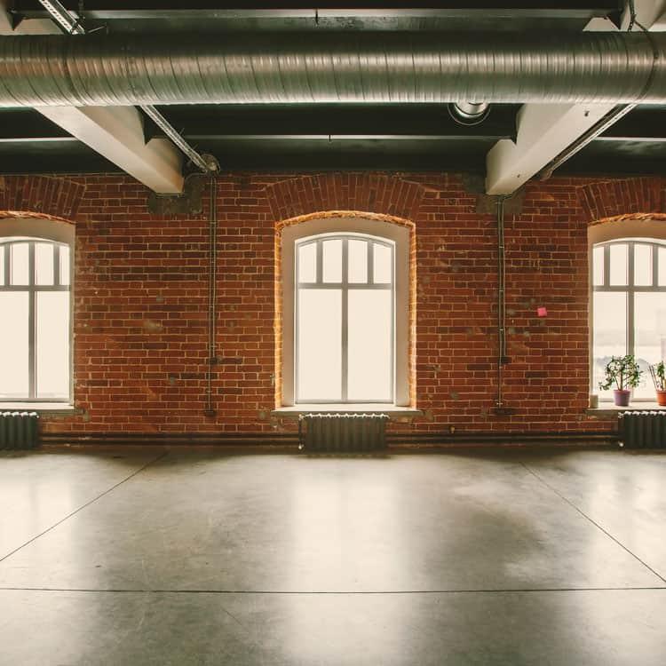 Photo of brick wall in boston loft
